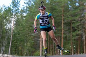 SM Rullskidskytte 2020 Sprint Damer Foto  Håkan Blidberg-